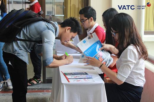 Với bề dày gần 20 năm kinh nghiệm, VATC luôn sát cánh cùng học viên nhằm đạt kết quả cao nhất trong các kì thi Anh ngữ quốc tế.