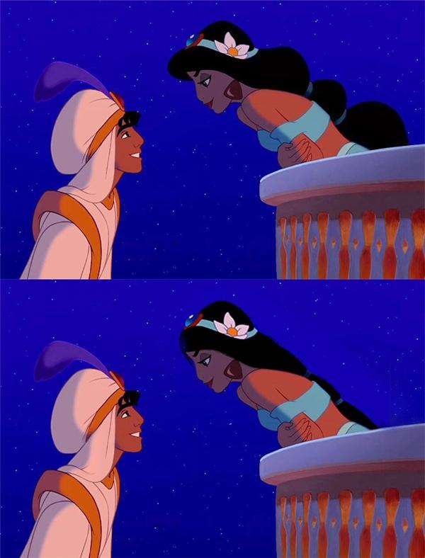 Tóc của Jasmine có thật sự bông xù không? Hay nó sẽ nằm thẳng đuột sau lưng như đuôi ngựa?