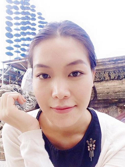 Hoa hậu Việt Nam 2008 sở hữu gương mặt phúc hậu nhưng với đường nét góc cạnh. Nhiều ý kiến cho rằng gương mặt Thùy Dung khá to và thô. Ưu điểm lớn nhất của người đẹp gốc Đà Nẵng là đôi mắt to, sáng và khuôn miệng rộng, nụ cười tươi, rạng rỡ.