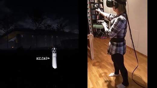 Chỉ là chơi game thực tế ảo thôi, nhưng sao lại kinh dị thế này