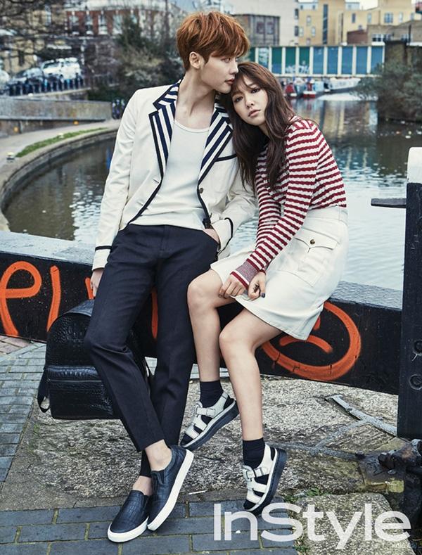 """Lee Jong Suk - Park Shin Hye từng dính nghi án hẹn hò sau phim """"Pinocchio"""""""