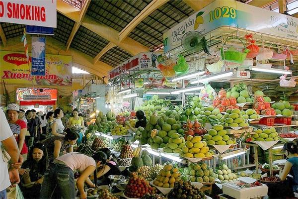 Một góc nhỏ chợ Bến Thành.(Ảnh: Internet)