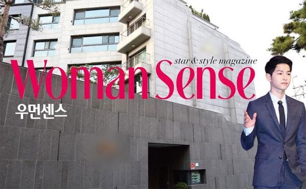 Biệt thự sang trọng nơi Song Joong Ki đang sống cùng gia đình