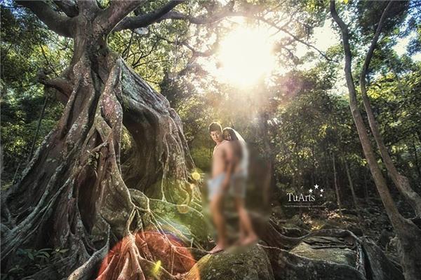 Ý kiến trái chiều của dân mạng về bộ ảnh cưới nude toàn tập