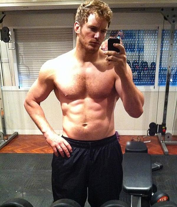 """Chris Pratt từ thân hình béo phệ trở thành """"hot boy Hollywood"""" nhờ chăm chỉ luyện tập"""