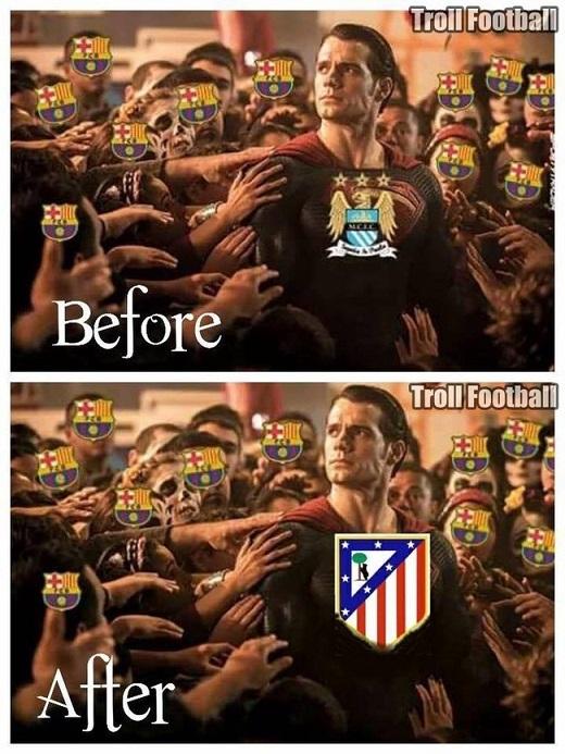 Sau khi Man City thất bại, CĐV Barcelona chắc chắn sẽ cổ vũ hết mình cho Atletico Madrid ở trận CK Champions League sắp tới. Lído là gì thì ai cũng hiểu.