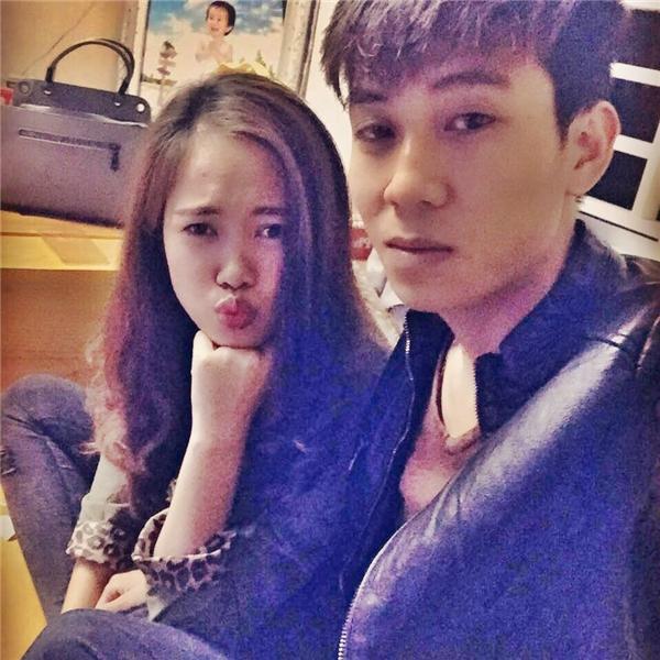 Ngô Hạnh - Tiến Huy,câu chuyện tình yêu của hai bạn trẻ nàyđang được nhiều ngườingưỡng mộ. (Ảnh: Internet)