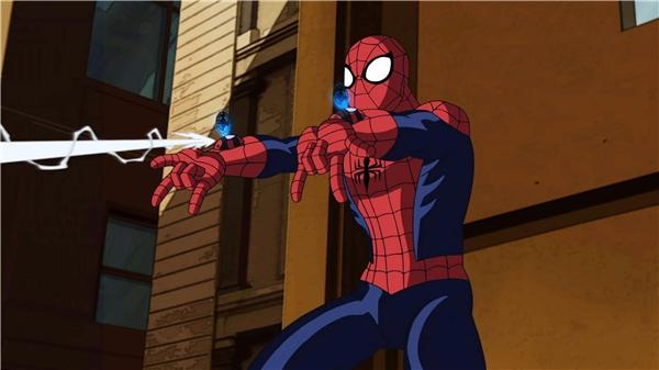 Tơ nhện là sản phẩm từ trí thông minh của Người Nhện.