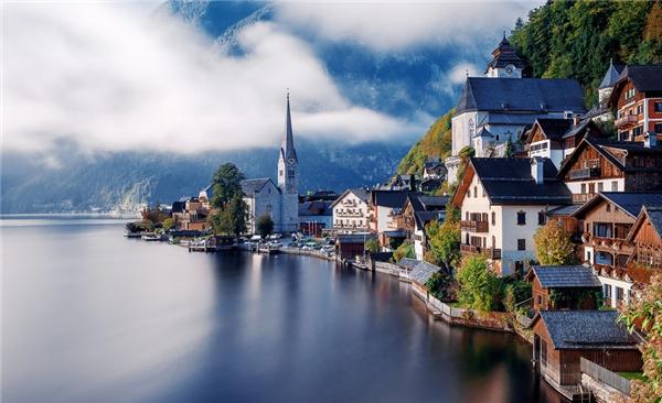 Hallstatt, Áo (Ảnh: Herison Black)