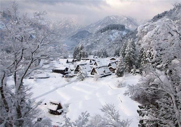 Gokayama, Nhật Bản (Ảnh: Internet)