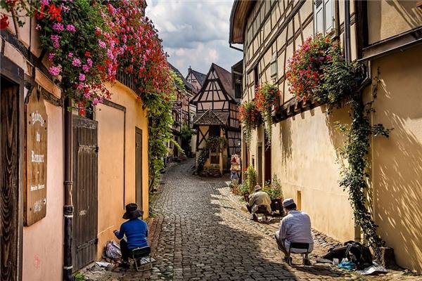 Eguisheim, Pháp (Ảnh: Jean-Claude Sch)