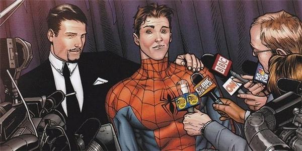 Spider-Man tháo mặt nạ