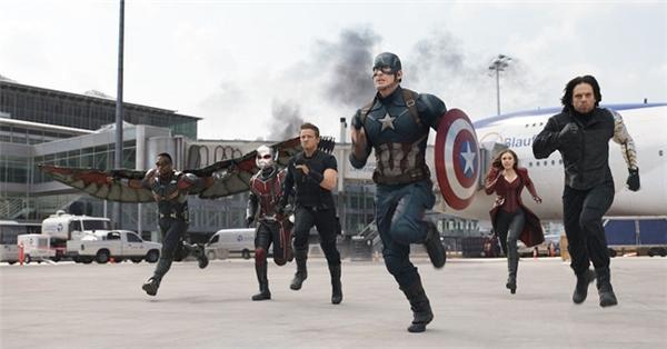 Team Cap sẽ lại tái xuất, trừ Winter Soldier (đã bị đóng băng lại)