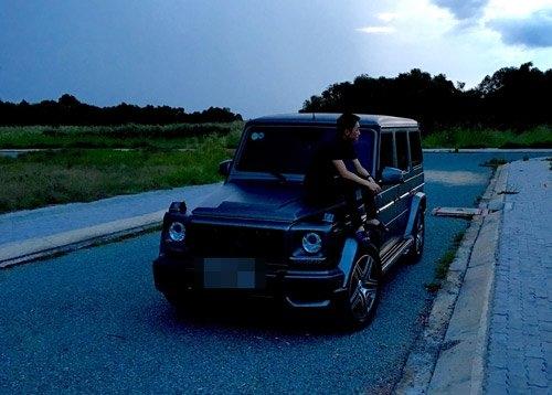 """ChiếcMercedes - Benz G550 AMG có giá không hề """"nhẹ""""của Cường Đô La"""