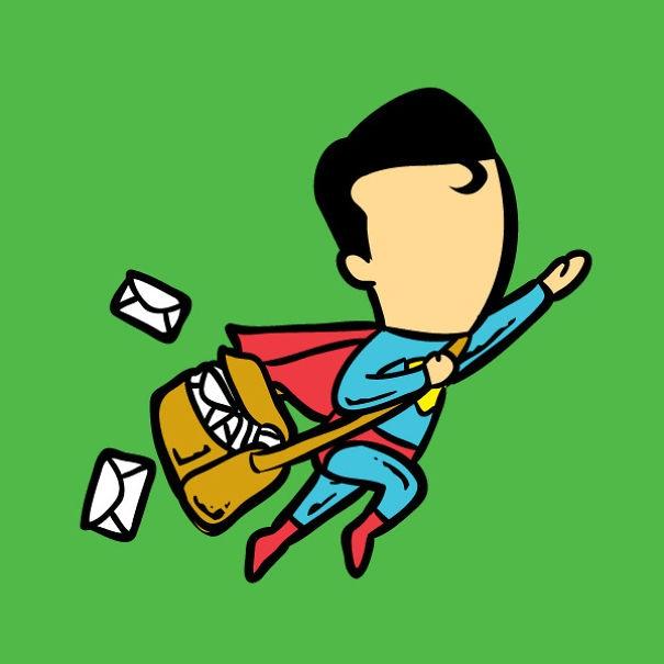 Muốn chuyển phát nhanh, cứ gọi cho Superman một tiếng.