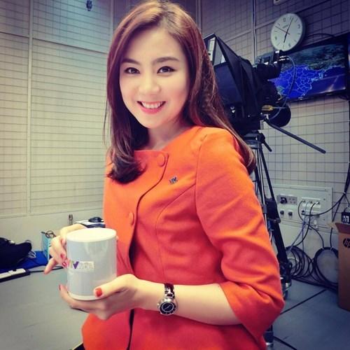 Mĩ nhân của đài truyền hình Việt Nam - BTV Mai Ngọc. Cô được mọi người chú ý khi đảm nhận vai trò MC dẫn chương trình bản tin thời tiết. - Tin sao Viet - Tin tuc sao Viet - Scandal sao Viet - Tin tuc cua Sao - Tin cua Sao