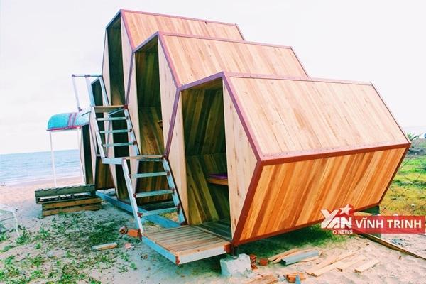Tận mục sở thị khu cắm trại phòng tổ ong siêu đẹp-độc-lạ ở Mũi Kê Gà