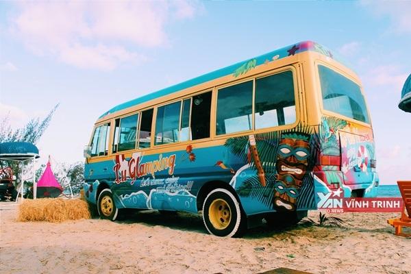 """Chiếc xe """"huyền thoại"""" đậm chất bãi biển Nam Mĩ."""