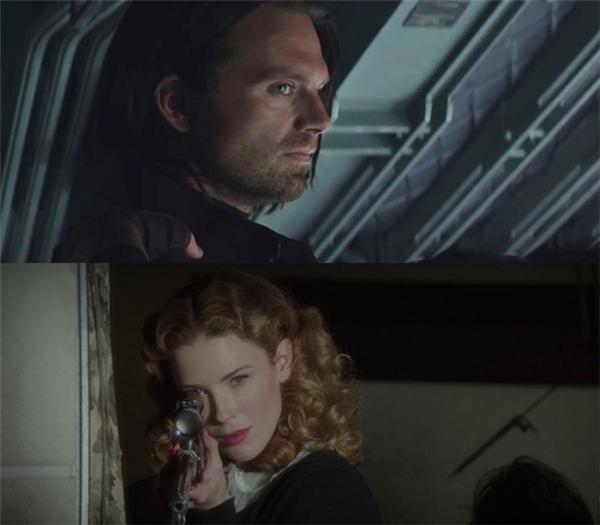 Dot là ai?: Trong câu chuyện phiếm giữa hai người bạn cũ, Steve Rogers và Bucky Barnes, họ nhắc đến cô nhân tình thời chiến của Winter Soldier: Dolores, hay còn gọi là Dot. Đó có thể là một cái tên ngẫu nhiên. Nhưng các fan của loạt phim truyền hình Agent Carter nghi ngờ rằng đây chính là cô nàng sát thủ Dottie Underwood người Liên Xô từng xuất hiện trên màn ảnh nhỏ.