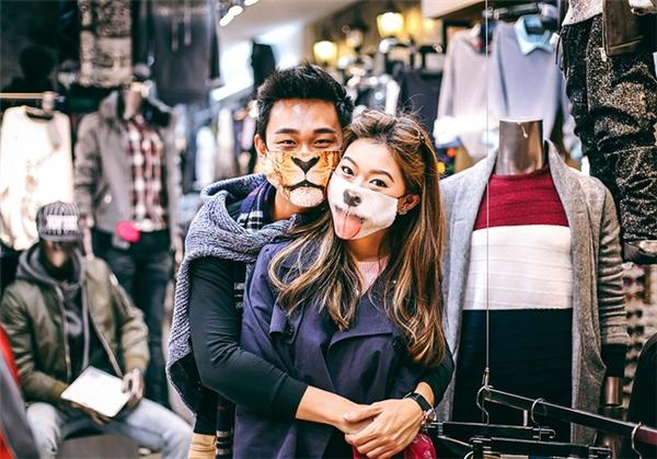 Cặp đôi Singapore đang gây sốt toàn châu Á.