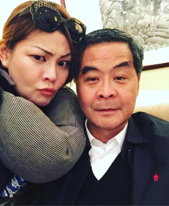 Lương Chấn Anh thường tuyên bố rằng gia đình ông rất êm ấm, hạnh phúc.