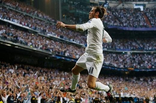 Gareth Bale có bàn thắng quan trọng giúp Real vào chung kết Champions League. Ảnh: Internet.