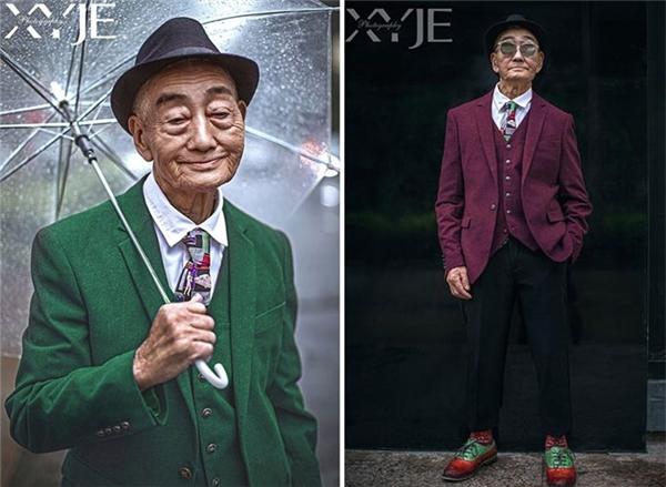 Không chỉ cụ bà mới tạo nên độ sốt đâu nhé, cụ ông nông dân 85 tuổi sống tại vùng nông thôn của tỉnh Phúc Kiến, Trung Quốc cũng từng trở thành model nối tiếng, là biểu tượng thời trang cho người già sau bộ ảnh do chính cháu trai ông thực hiện. Cháu ông là nhiếp ảnh gia XiaoYouXi, một người có tiếng trong giới ảnh tại xứ Trung.