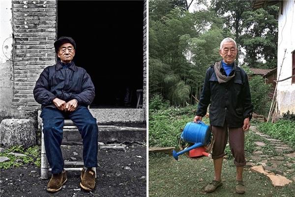 Sau những bức ảnh hóa siêu mẫu rùm beng, cụ ông lại trở về với cuộc sống thường ngày giản dị. Ông lại là người nông dân bình thường, quanh quẩn ruộng vườn.