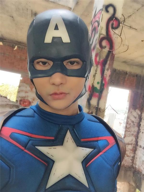 """Người hâm mộ bất ngờ khi Tim hóa Captain America - nhân vật nổi tiếng trong loạt phim siêu anh hùng của hãng Marvel đang """"gây sốt"""" hiện nay. - Tin sao Viet - Tin tuc sao Viet - Scandal sao Viet - Tin tuc cua Sao - Tin cua Sao"""
