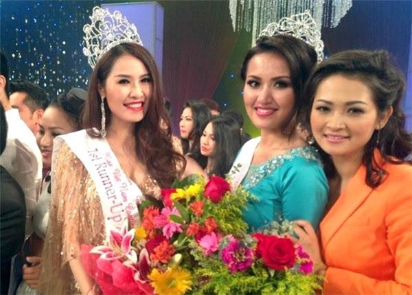 Năm 2013, Quế Vân đến với cuộc thi Hoa hậu người Việt Thế giới và giành được giải Á hậu chung cuộc. Dĩ nhiên, cả 4 cái tên kể trên đều không được cấp phép.