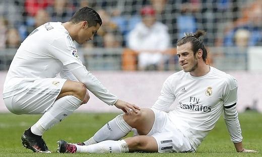 Bale vừa bị căng dây chằng đầu gối trong buổi tập gần đây