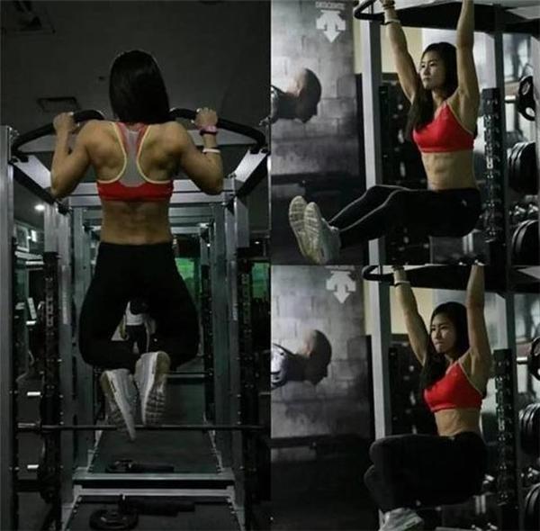 Cô có sự hỗ trợ của chồng, cũng là người trong giới vận động viên thể hình.