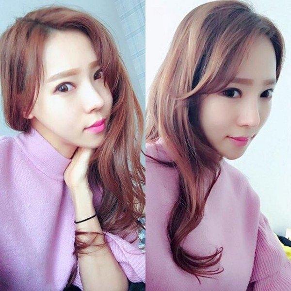 Không chỉ có thân hình quyến rũ, Apple Kim cũng có gương mặt xinh đẹp, thanh tú.