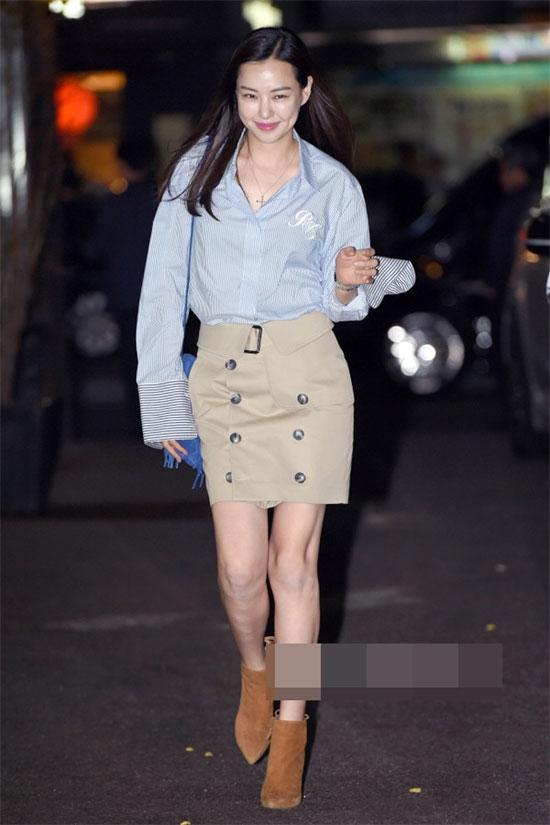 Kiểu áo này cũng nhận được nhiều sự yêu thích từ sao các sao Hàn. (Ảnh: Internet)