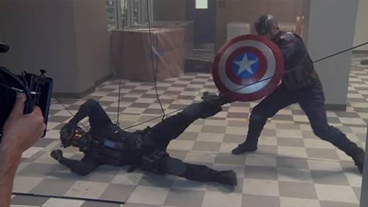 """Đây là sự thật đằng sau những cảnh quay hoành tráng của """"Captain Americar: Civil war"""""""