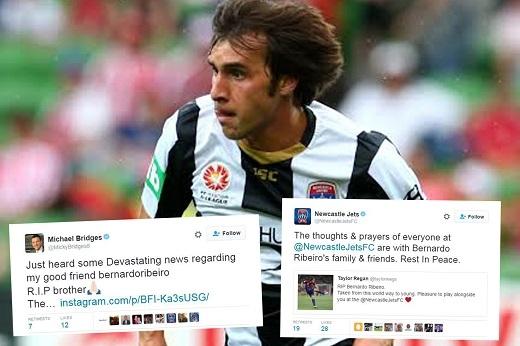 Bernardo Ribeiro đã ra đi mãi mãi sau cơn đau tim trên sân bóng