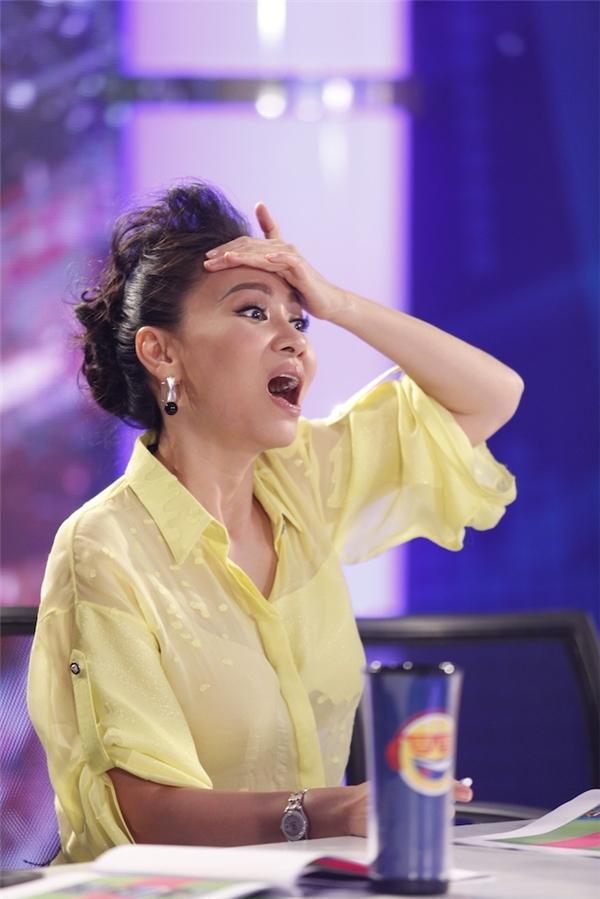 """Nữ ca sĩ """"há hốc mồm"""" trước phần trình diễn của thí sinh. - Tin sao Viet - Tin tuc sao Viet - Scandal sao Viet - Tin tuc cua Sao - Tin cua Sao"""