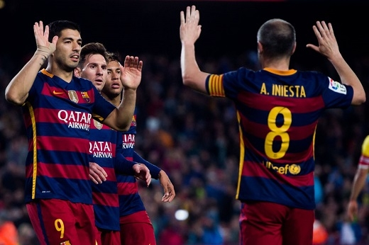 Barca chưa bao giờ thua trong ngày quyết định
