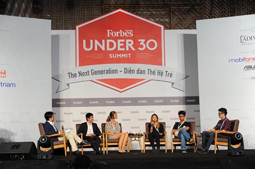 Gặp gỡ những gương mặt trẻ xuất sắc tại Forbes Under 30 Summit