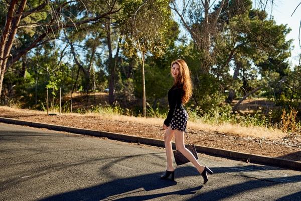 """Cô nàng thường chọn quần shorts và chân váy ngắn để tôn lên đôi chân """"vạn người mê"""" của mình.(Ảnh: Internet)"""