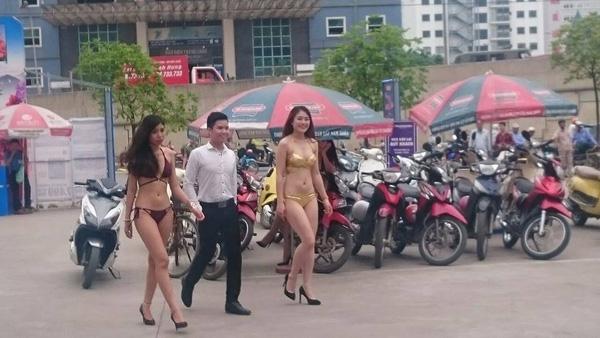 Dàn hot girl mặc đồ 2 mảnh mát mẻ khoe thân bán hàng dậy sóng mạng xã hội