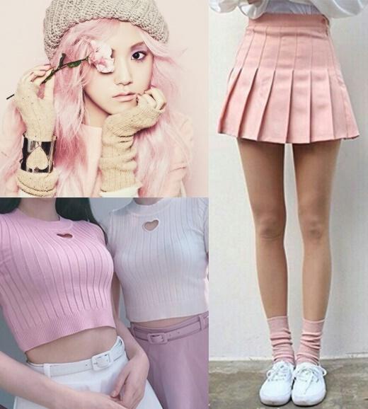 """Rose Quartz (hồng thạch anh) – một gam màu pastel """"làm mưa làm gió"""" trên các sàn catwalk.(Ảnh: internet)"""