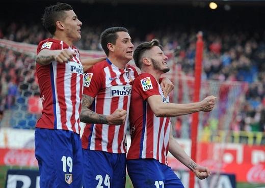 Saul Niguez và Lucas Hernandez đang là nhân tố chính trong thành công của Atletico Madrid