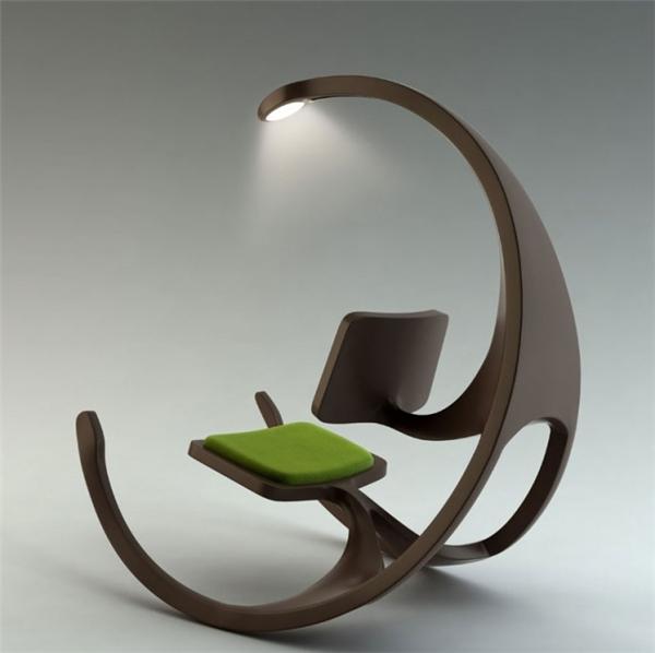 """Lấy ý tưởng từ những chiếc ghế nha khoa """"nổi tiếng"""", thiết kế này ắt hẳn sẽ là lựa chọn yêu thích của những ai mê đọc sách."""