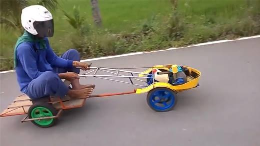 """Chỉ ở Việt Nam mới có những chiếc xe chế """"bá đạo"""" này"""