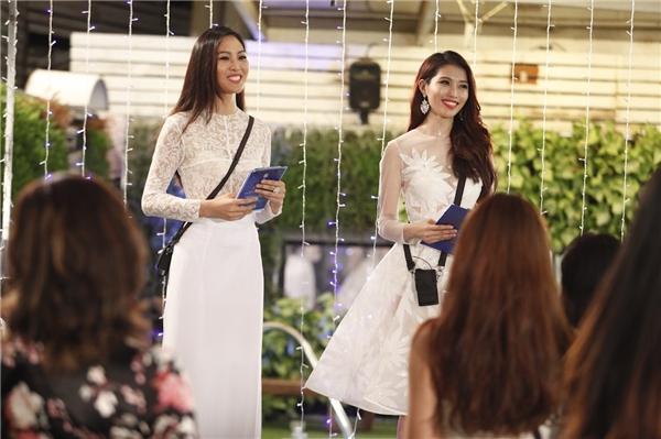 Diệu Ngọc và Quỳnh Châu giữ vai trò MC