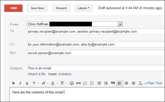 Đố bạn biết CC và BCC trong khi gửi email là gì?