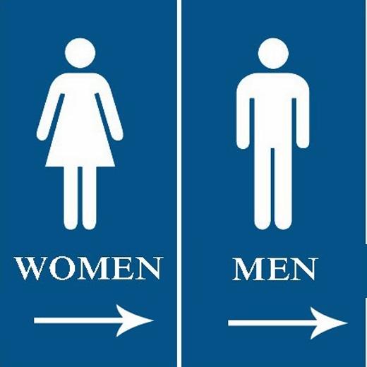 Phân biệt phải trái: con traikhông bao giờ nhầm lẫn giữa phải và trái, trong khi đó phụ nữ thường rất hay lẫn lộn hai phương hướng này. Nếu hỏi phụ nữ bên trái là bên nào, họ thường ngập ngừng một lát, nhìn vào nhẫn hoặc nghĩ đến tay cầm viết rồi mới trả lời.