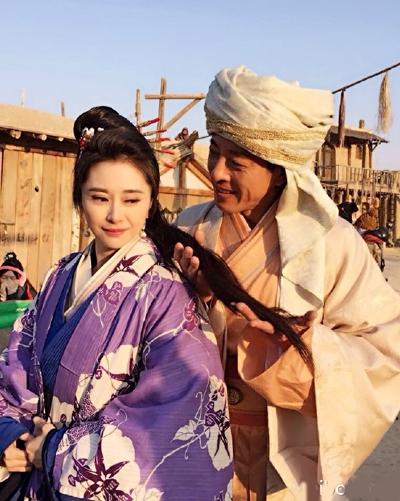 Hà Mĩ Điền tái hợp với Lữ Tụng Hiền trong bộ phim Kỳ Tinh Ký