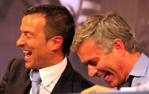 Mourinho và Jorge Mendes